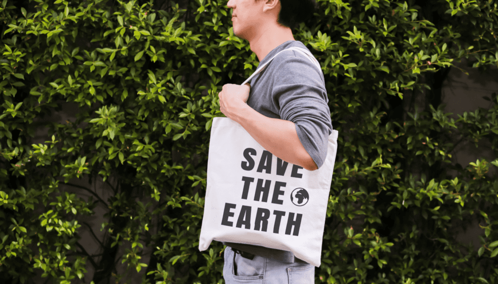Save The Earth Reusable Bag